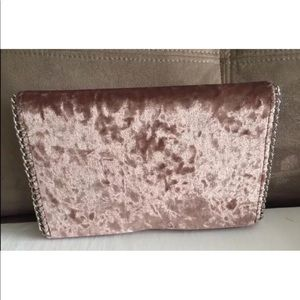 Chelsea28 Velvet Clutch Bag NEW